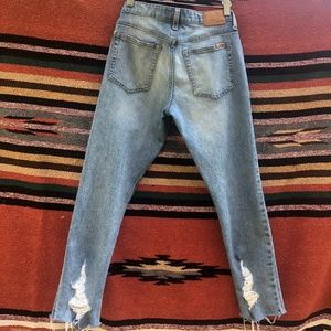 Joe's Jeans The Smith Mid Rise Straight Crop